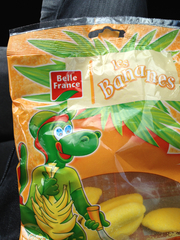 Belle France Bananes Gélifiée Sachet de 200 g - Lot de 12