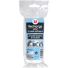RECHARGE ADHESIVE 80 FEUILLE U POUR BROSSE ADHESIVE REF.7144