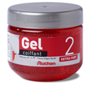 Auchan gel coiffant fixation extra forte 300ml