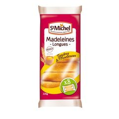 St Michel madeleines longues nature 220g