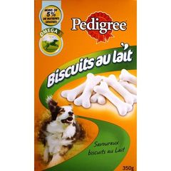 Pedigree Light & Tasty Milky Biscuits Low Fat Treats Dog