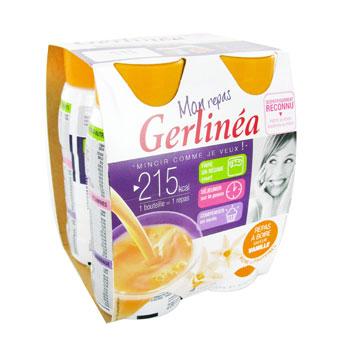 Subsituts de repas a boire gout vanille gerlinea, 4x250g