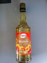 Cora sirop mirabelle bouteille 70cl