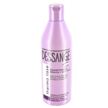 Shampooing detente + anti-frizz, cheveux secs, difficile a lisser lisse absolue 1 x 250ml