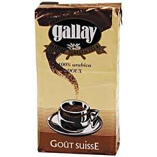 Cafe gout Suisse GALLAY FOLLIET CAFES, 250g