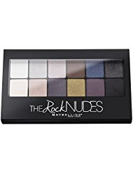 GEMEY MAYBELLINE The Rock Nudes Palette de 12 Fards...