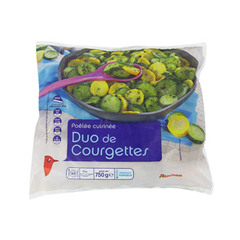 Poelee duo de courgettes
