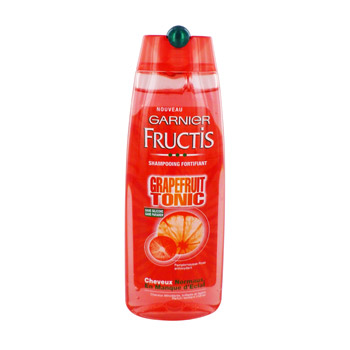 Shampooing Grapefruit Tonic cheveux normaux, manque d'eclat