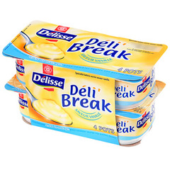 Deli'break Delisse Vanille 4x150g