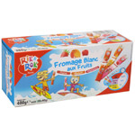 Rik & Rok fromage blanc aux fruits en tube 12x40g