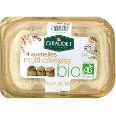 Quenelles bio multi cereales GIRAUDET, 4 pieces, 320g