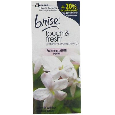 Recharge pour mini spray Touch & Fresh jasmin BRISE, 10ml