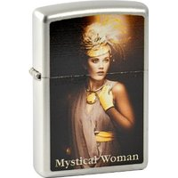 Briquet zippo woman 2.003.360 mystical iI brillant doré édition limitée 001/500/500/500-mM-collection 2013-fini...