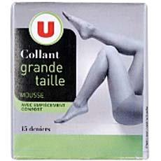 Collant mousse U, taille 6, gazelle