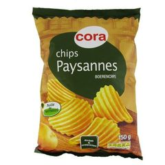 Chips paysannes