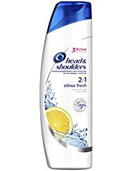 Head & Shoulders Shampooing Antipelliculaire 2 en 1 Citrus Fresh 255 ml - Lot de 3