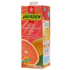 Jus pamplemousse Jafaden rose A base de concentre 1l
