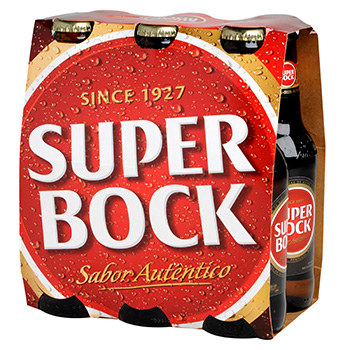 Biere blonde Super Bock 5.6%vol. 6x25cl