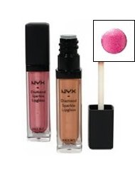 Nyx Cosmetics Diamond Sparkle Brillant à Lèvres Rose
