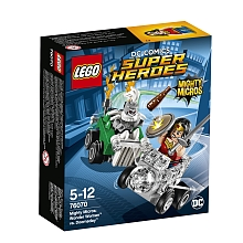 LEGO® DC Comics Super Heroes - Nouveautés 2017 - Mighty Micros : Wonder Woman contre Doomsday - 76070