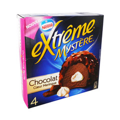 Domes glaces Mystere chocolat coeur de meringue EXTREME, 520ml