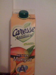 Nectar mangue CARESSE ANTILLAISE, brique de 1l