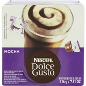 Nescafé Dolce Gusto for Nescafé Dolce Gusto Brewers, Mocha, 16 Count by Nescafe