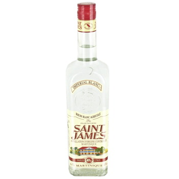 Rhum blanc Saint James 40% vol - 70cl