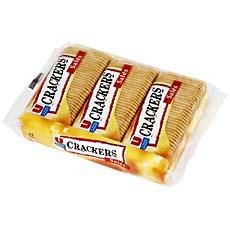 Crackers aperitif sales U, 3x100g