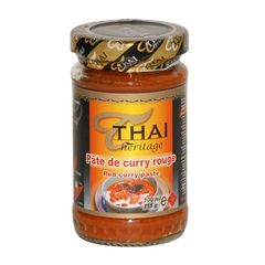 Pate de curry rouge THAI HERITAGE, 110g