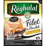Filet de poulet doré au four REGHALAL, 4 tranches, 160g