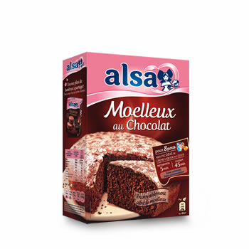 Preparation Mamie Gateau Alsa Chocolat 435g