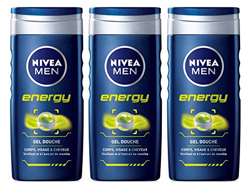 Nivea douche energy men 2x250ml