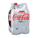 coca cola light 4x1l5