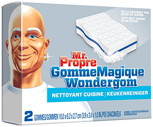 Mr Propre gomme cuisine x2