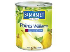 Poires Williams au sirop