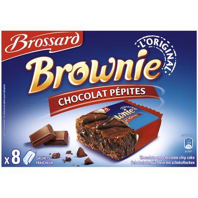 Brownie brossard 8 sachets chocolat et pepites 240g tous les produits biscuits g teaux - Carbonate de sodium danger ...
