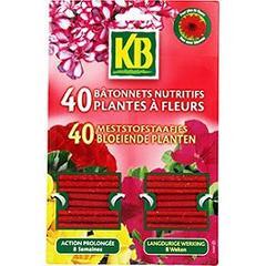 b tonnets nutritifs pour plantes fleuries kb 40 unit s. Black Bedroom Furniture Sets. Home Design Ideas