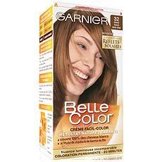 coloration permanente belle color blond fonce dore iris n32 - Coloration Blond Fonc Dor Iris
