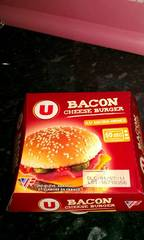 Bacon cheese burger U, 155g