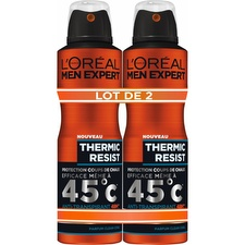 Men expert déodorant homme thermic resist 2x200ml