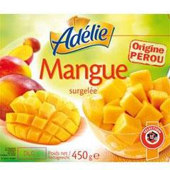 Mangue surgelee, le pot de 450g