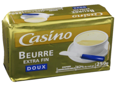 Beurre extra fin doux 250g