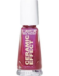 Layla Cosmetics Milano Céramique Effet Vernis à Ongles Cherry Lollypop 10 ml