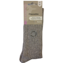 In Extenso chaussettes femme angora gris clair 37/41