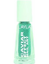 Layla Cosmetics Milano Vernis à Ongles Caviar Effet 9 5 ml