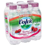 Volvic Touche de Fruit Fruits d'été (6x500ml) - Paquet de 2