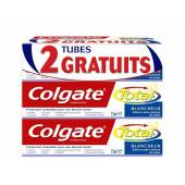 Dentifrice Colgate total Blancheur 3x75ml