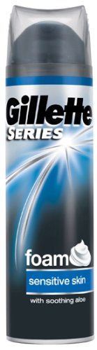 Mousse a raser peaux sensibles GILLETTE Series, 250ml