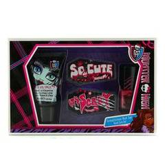 Coffret MONSTER HIGH Lotion main et corps 30 ml, vernis à ongles et lime à ongles